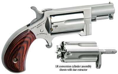 North American Arms Sidewinder with Conversion